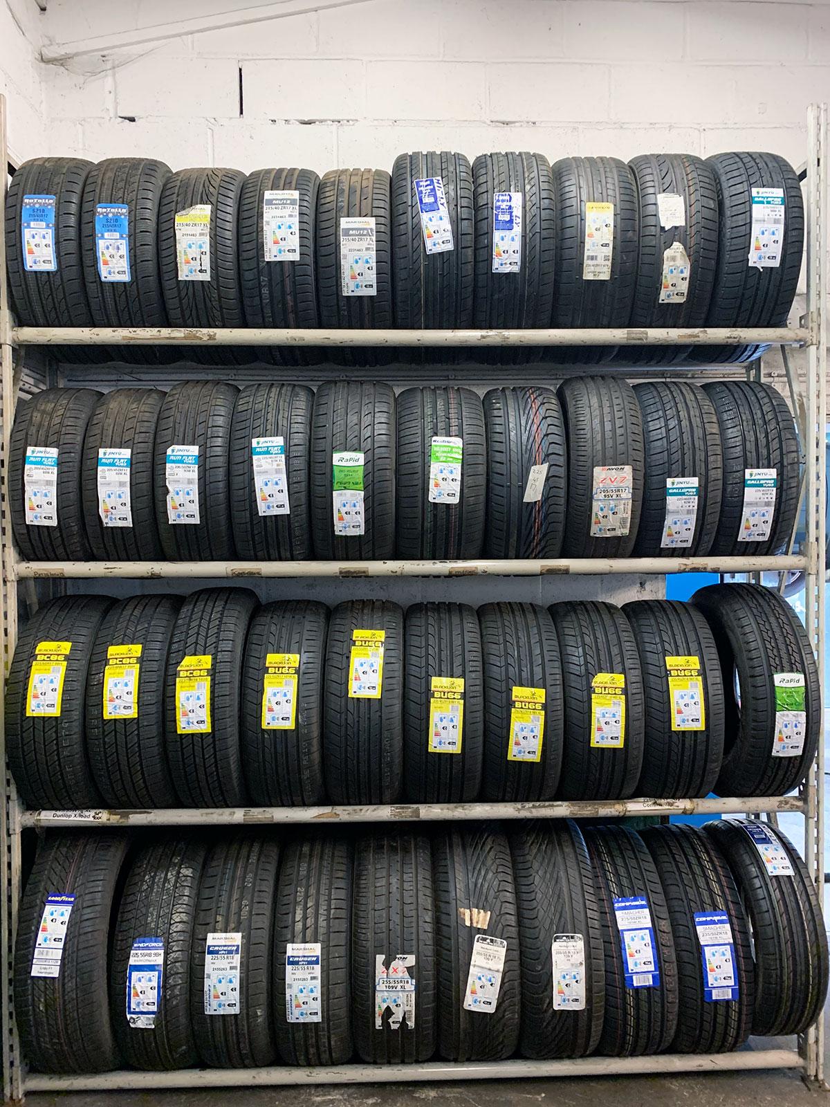 Tyres in Penzance